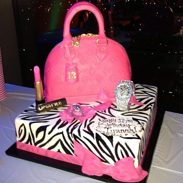 7 13 Birthday Cakes For Girls Photo Kid Birthday Cake Idea Cute