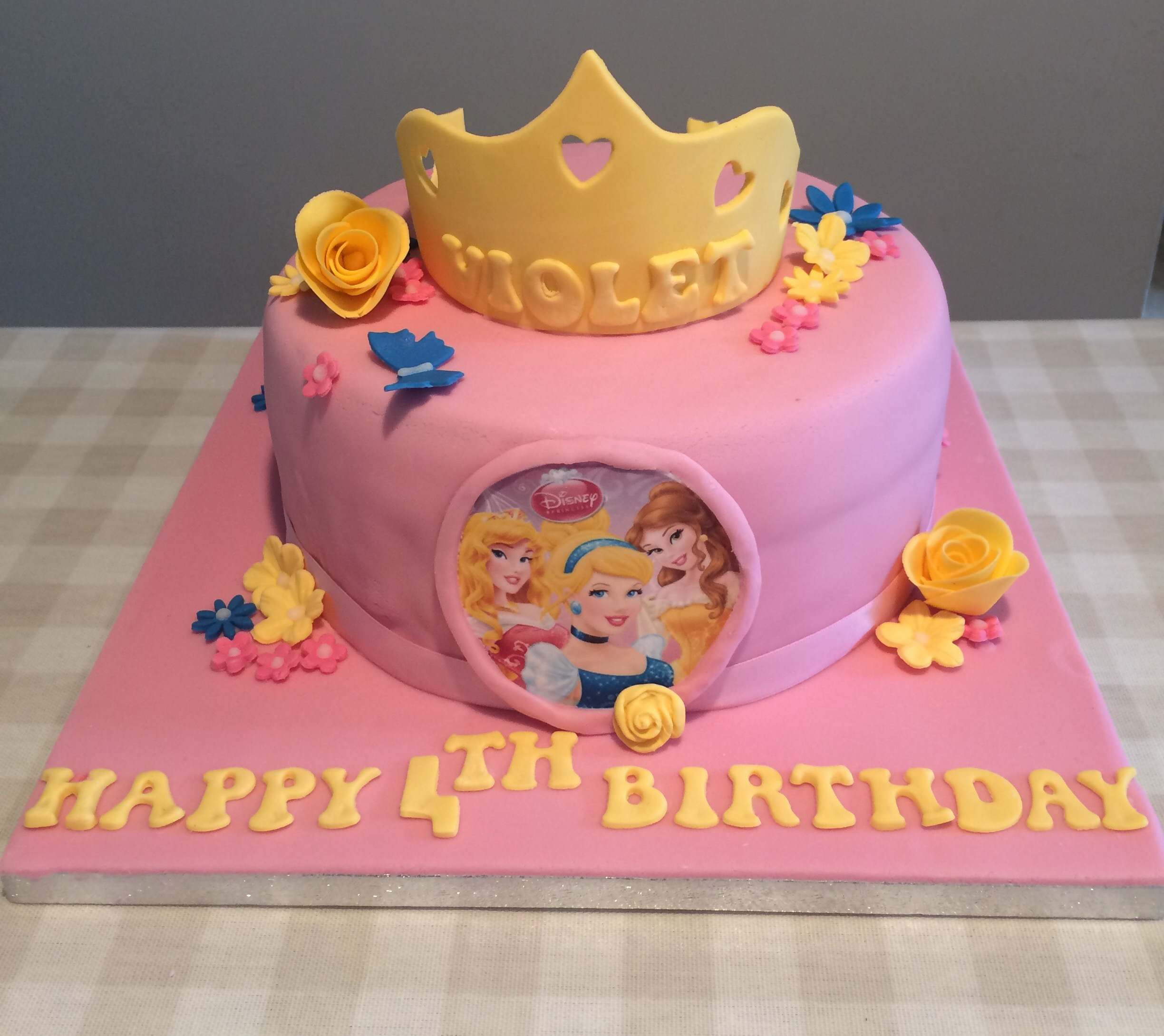 4 Year Old Girl Birthday Cake Ideas