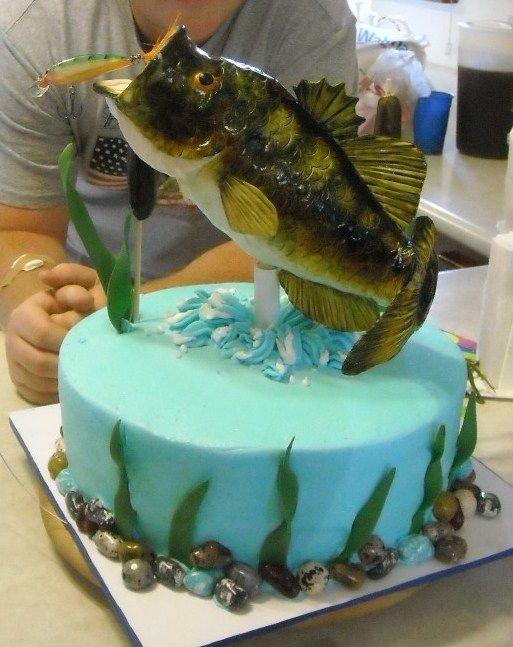Groovy 8 Fondant Fish Cakes Photo Fondant Fish Cake Fondant Fish Cake Funny Birthday Cards Online Eattedamsfinfo