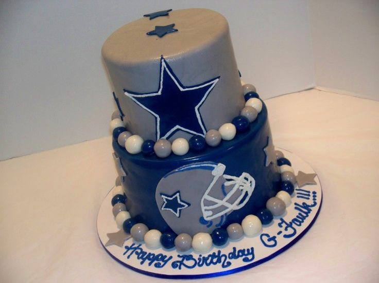 Awesome 7 Cowboys Football Birthday Cakes Photo Dallas Cowboys Football Funny Birthday Cards Online Alyptdamsfinfo