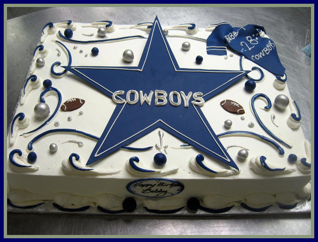 Dallas Cowboys Birthday Cake Ideas