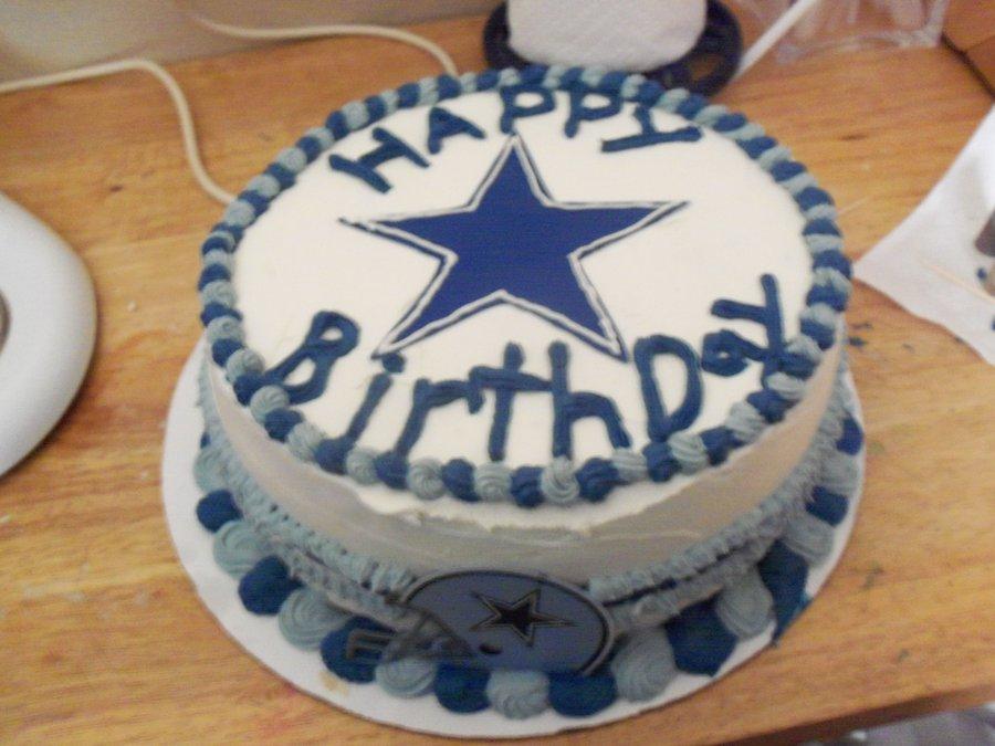 11 Derrick Dallas Cowboys Birthday Cakes Photo Dallas Cowboys