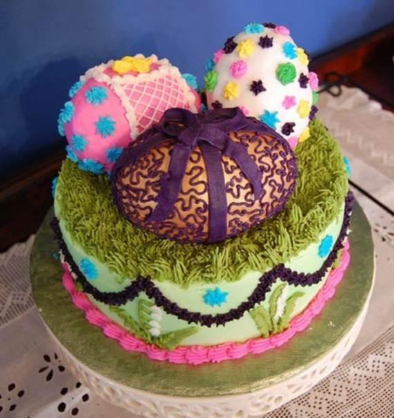 7 Easter Egg Birthday Cakes Photo Easter Egg Cake Easter Egg Cake