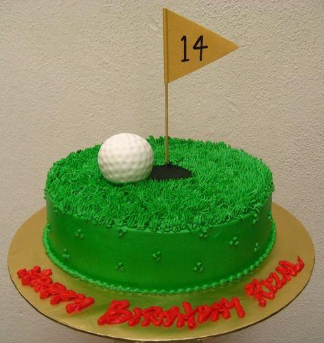 Easy Golf Cake Ideas