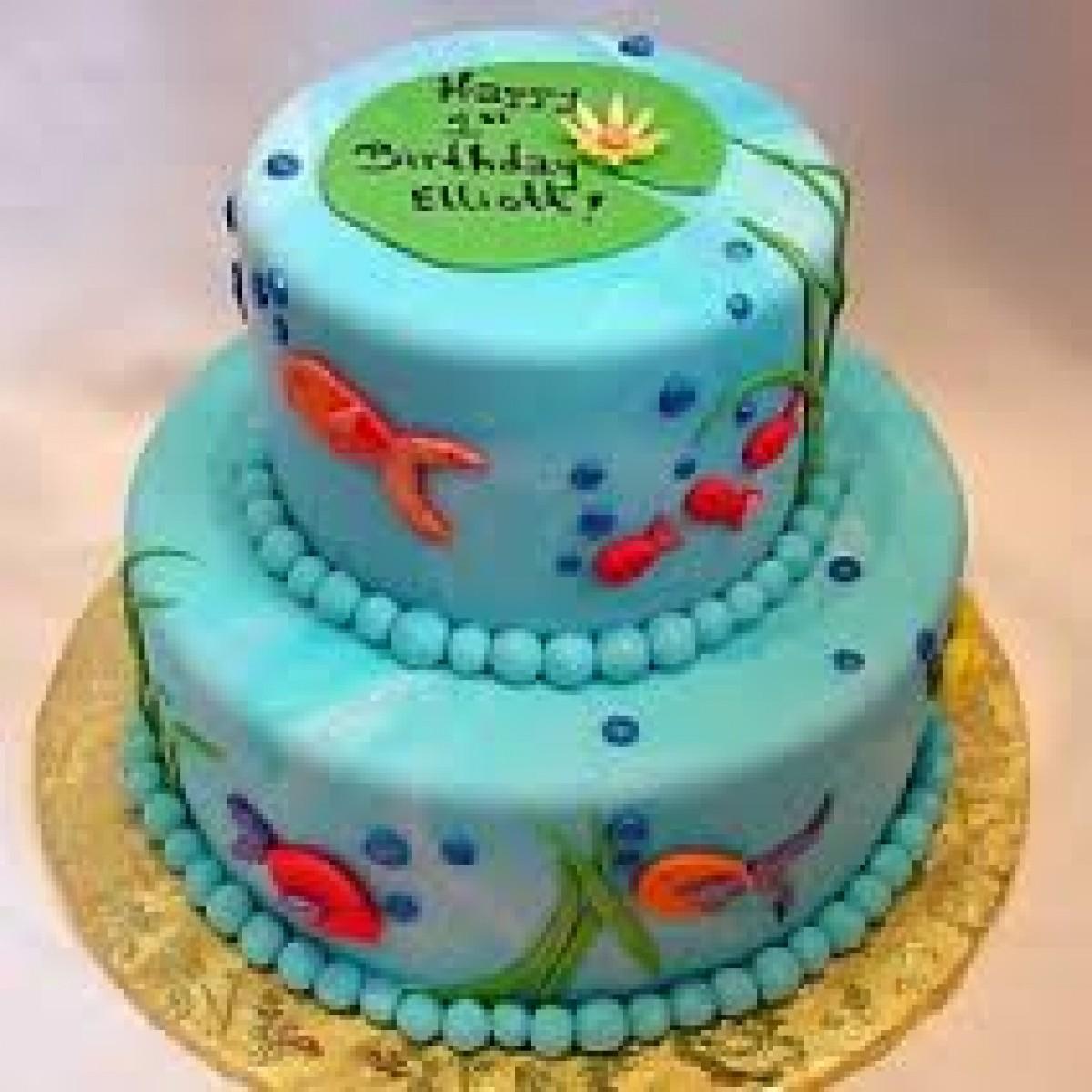 8 Fondant Fish Cakes Photo Fondant Fish Cake Fondant Fish Cake