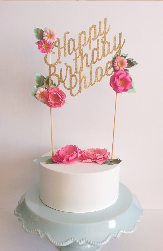 10 Topper Happy Birthday Cakes J Photo Happy Birthday Cake With