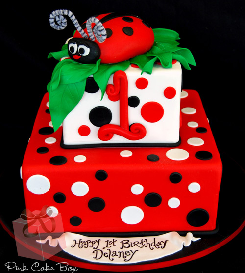 Strange 8 Ladybug 1St Birthday Cakes For Girls Photo Girls Birthday Cake Funny Birthday Cards Online Kookostrdamsfinfo