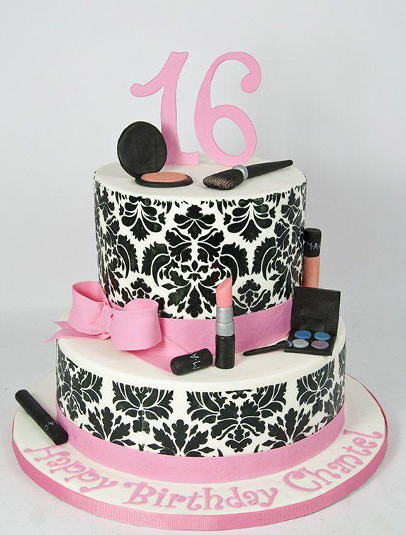11 Fondue Makeup Cakes Photo