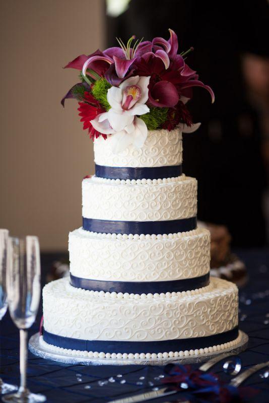10 Lace Square Wedding Cakes No Fondant Photo - Wedding Cake Sugar ...
