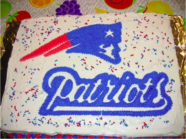 Fantastic 9 New England Patriots Happy Birthday Cakes Photo Patriots Funny Birthday Cards Online Elaedamsfinfo
