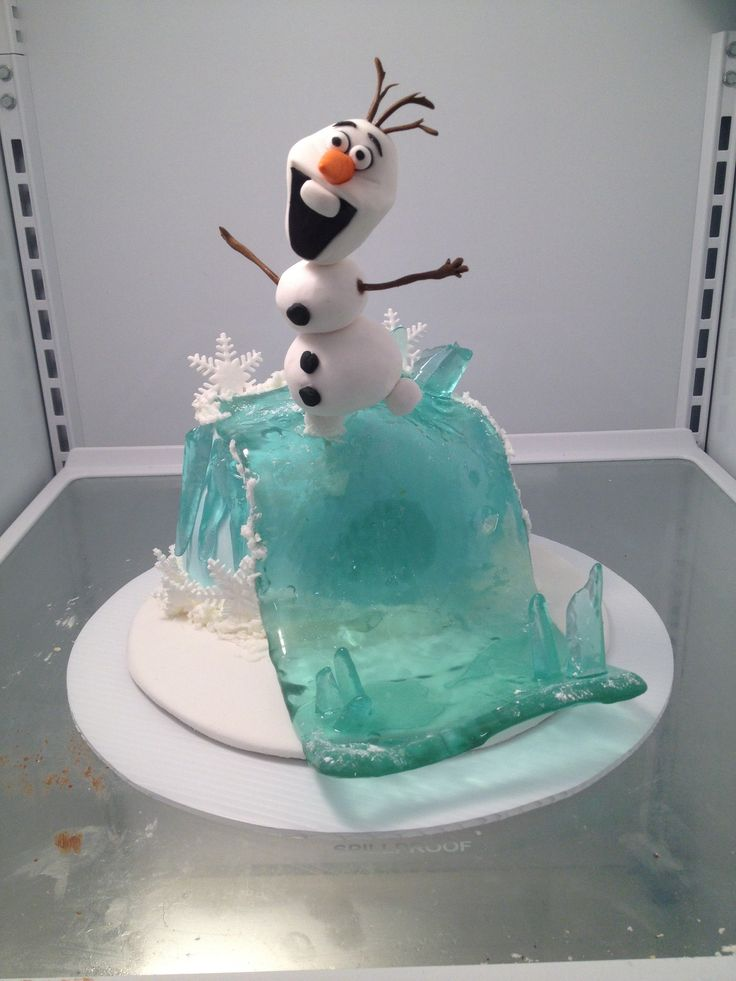 Astonishing 13 Olaf Frozen Birthday Party Cakes Photo Olaf Birthday Cake Funny Birthday Cards Online Alyptdamsfinfo