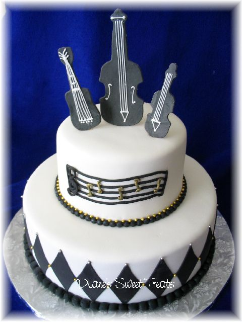 9 Rock And Roll Themed Birthday Cakes Photo Rock And Roll Happy