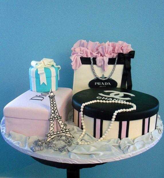 10 Shoppers Birthday Cupcakes Photo Shopping Theme Birthday Cake
