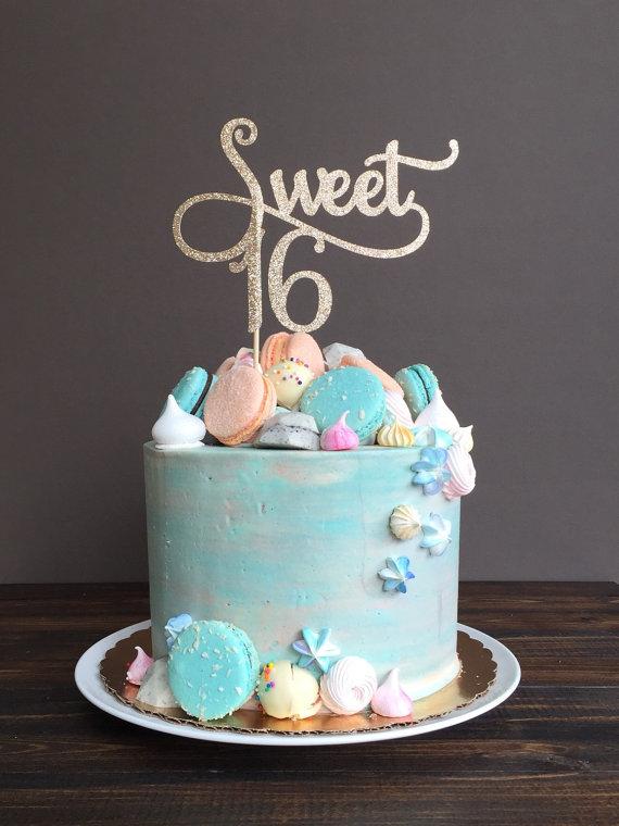 Awe Inspiring 12 Sweet 16Th Birthday Cakes Photo Girls Birthday Cake Ideas Funny Birthday Cards Online Necthendildamsfinfo
