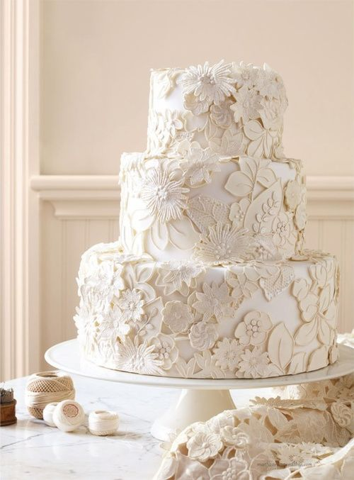 7 Photos Of Wedding Cakes Martha Stewart