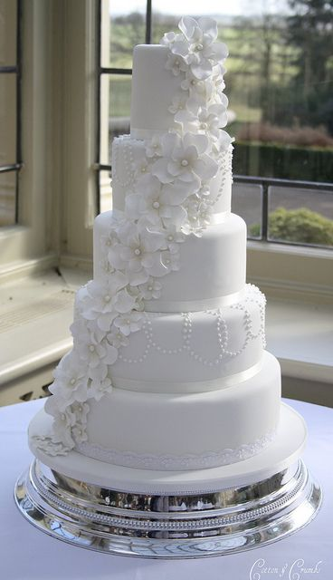 11 Beautiful White Wedding Cupcakes Photo Elegant White Wedding