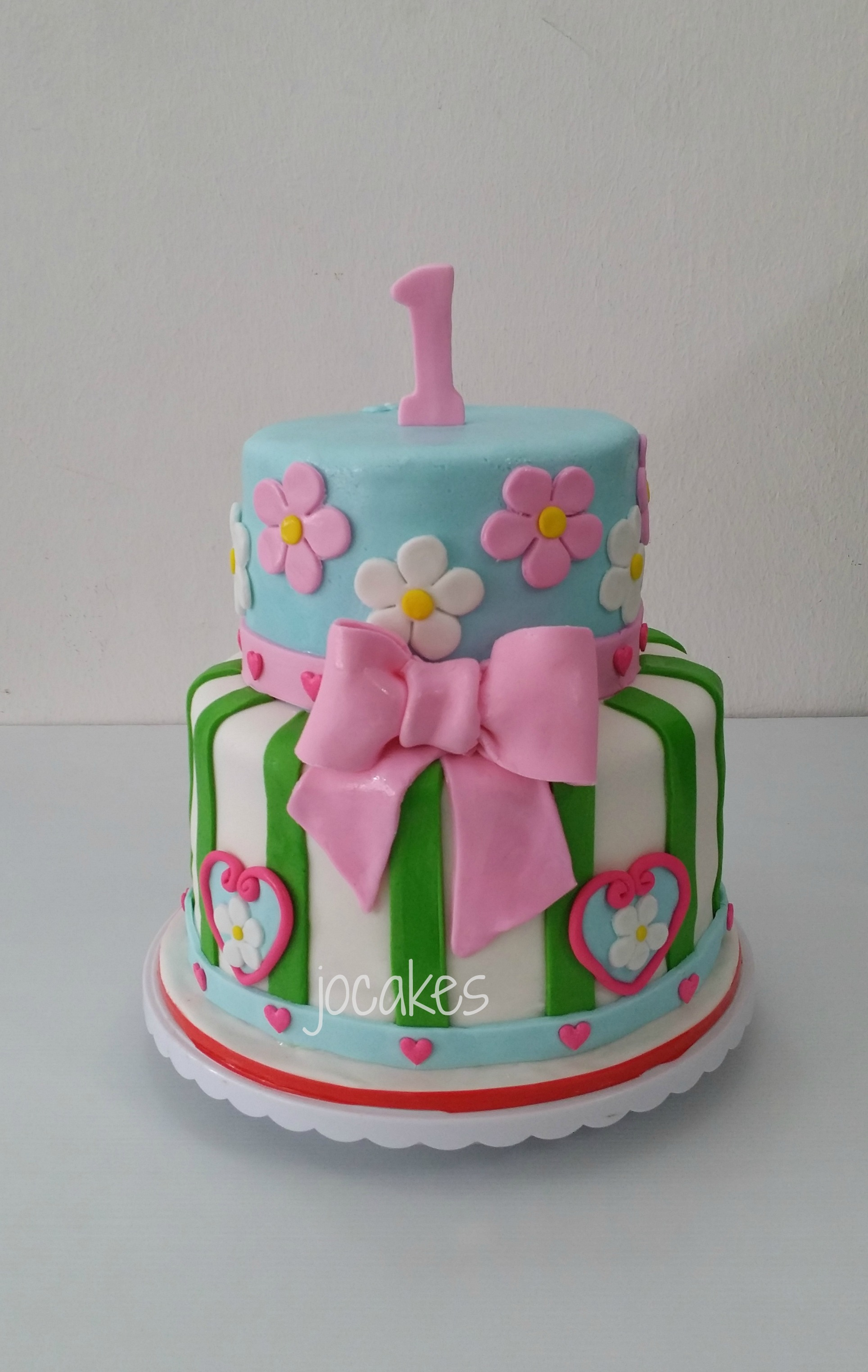11 One Year Birthday Cakes For Girl Photo One Year Old Girl