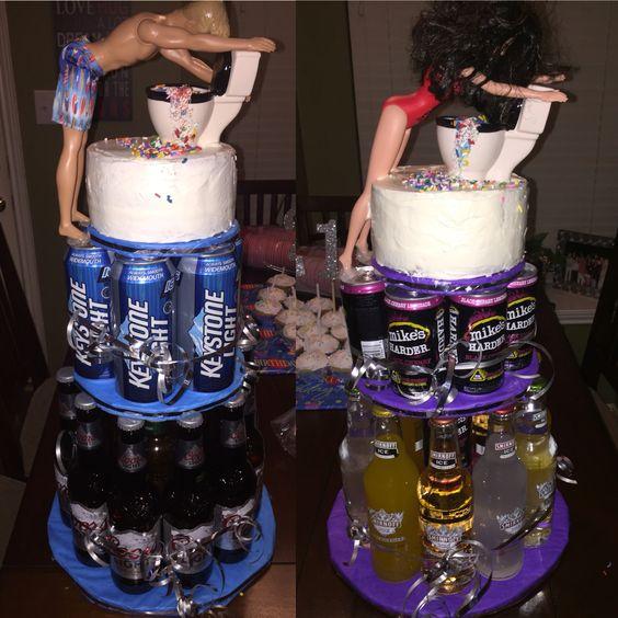 21st Birthday Cake For My Boyfriend
