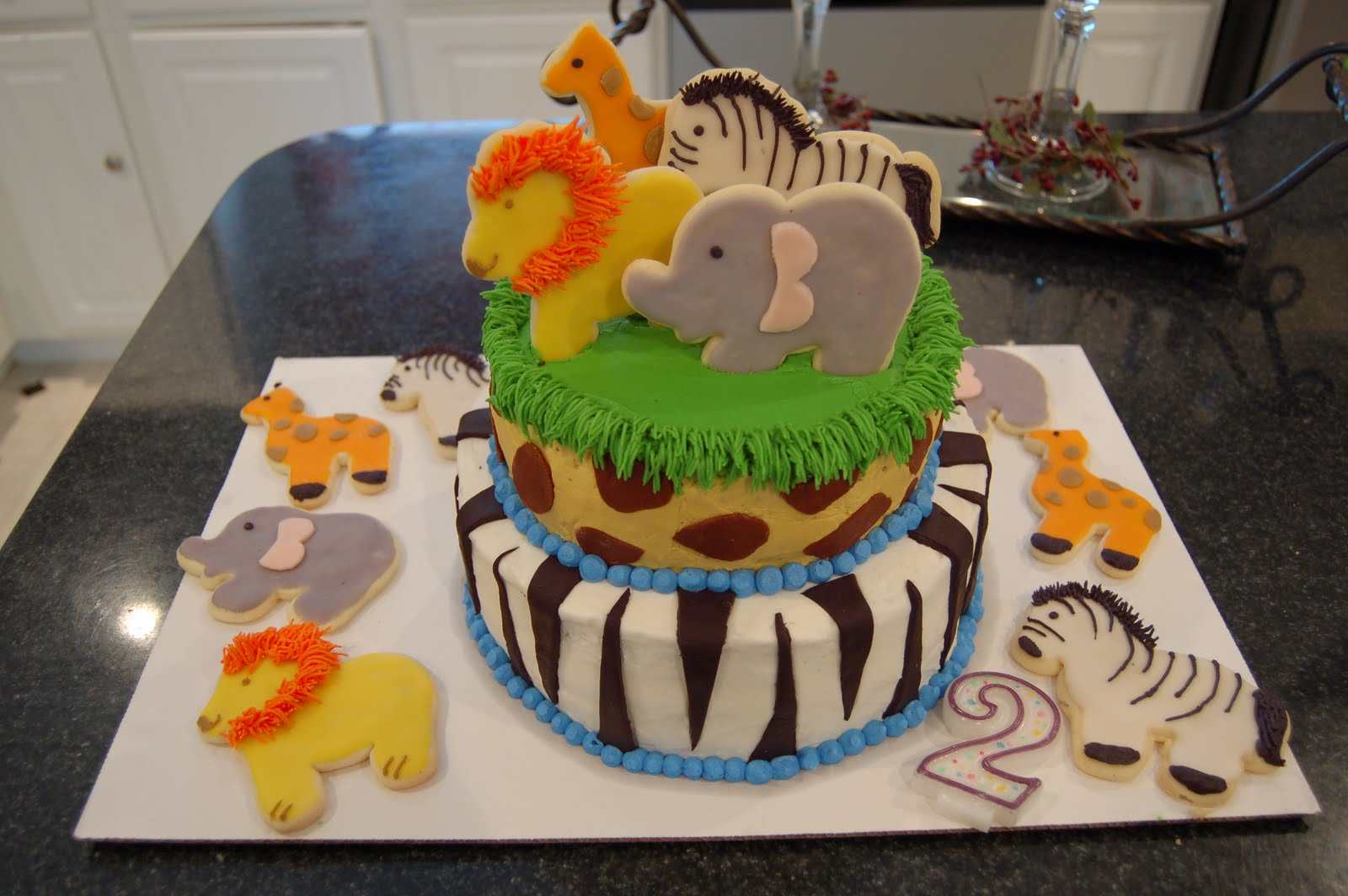 Boy 2nd Birthday Cake
