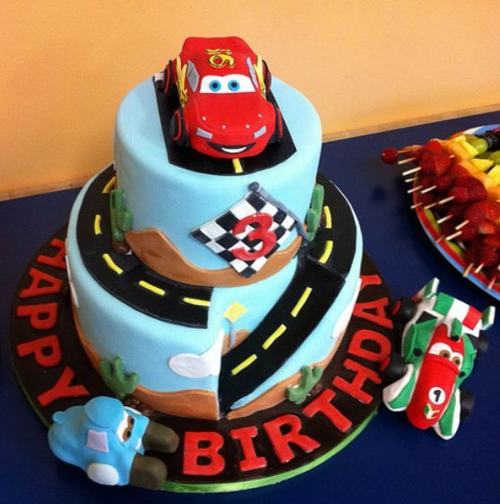 Pleasant 8 Cars Birthday Cakes For Dads Photo Cars Birthday Cake 3 Year Funny Birthday Cards Online Alyptdamsfinfo