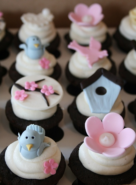 11 For A Bird Themed Baby Shower Cupcakes Photo Cupcake Baby
