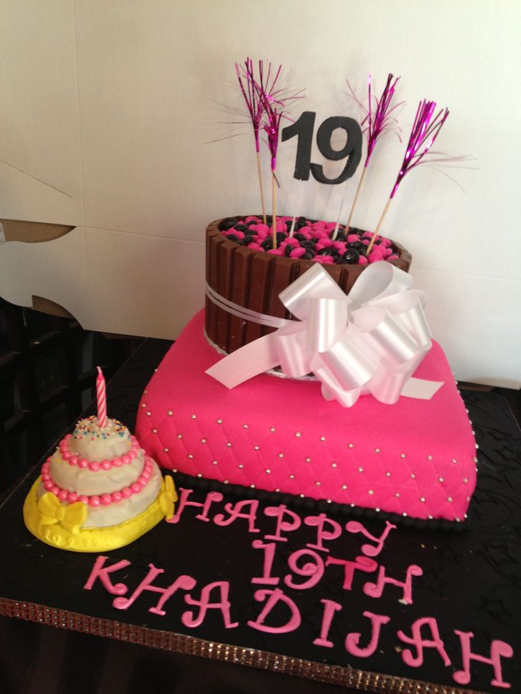 13 19th Birthday Cakes For Girls Photo Girls 21st Birthday Cake