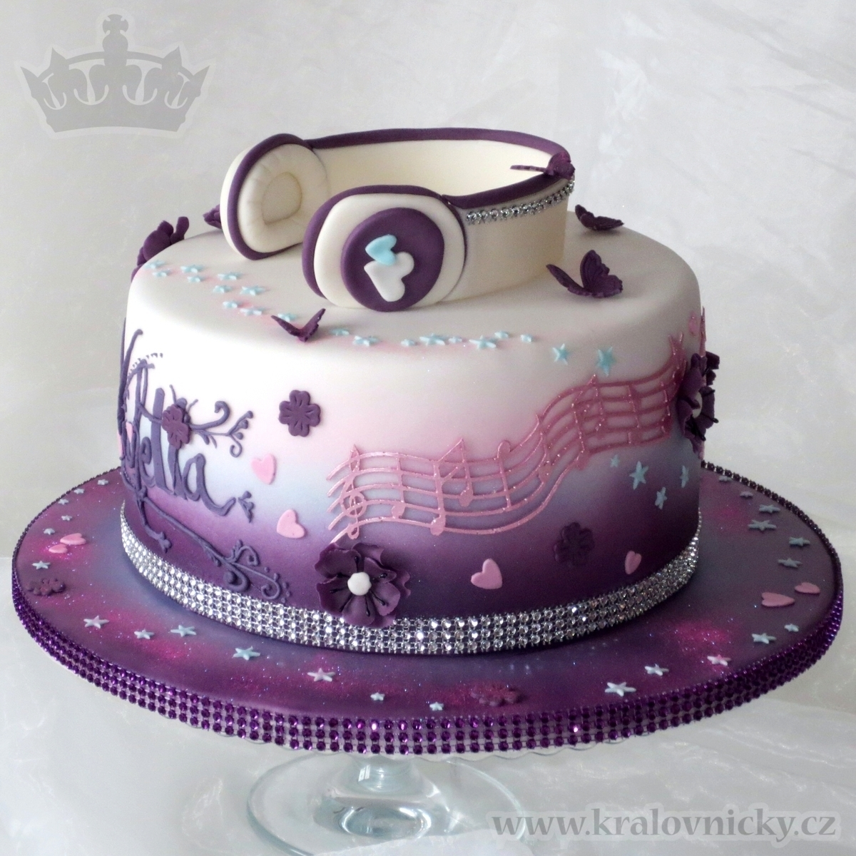 12 Violetta Disney Birthday Cakes For Girls Photo Music Birthday