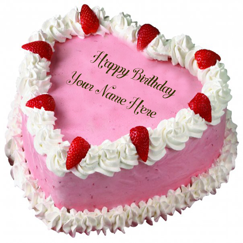 Tremendous 9 Heart Shaped Cakes That Say Happy Birthday Photo Heart Shaped Funny Birthday Cards Online Fluifree Goldxyz