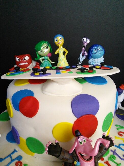 12 Disney Pixar Inside Out Cakes Photo Inside Out Movie Birthday