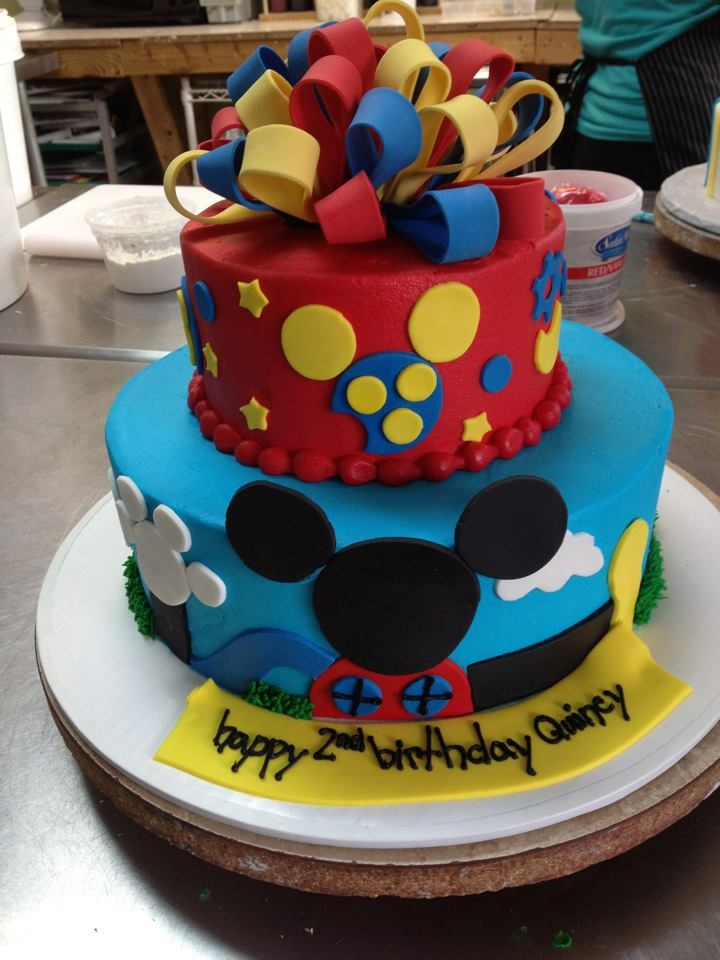 5 Mickeys Cakes Little Rock Photo Mickey Mouse Tier Cake