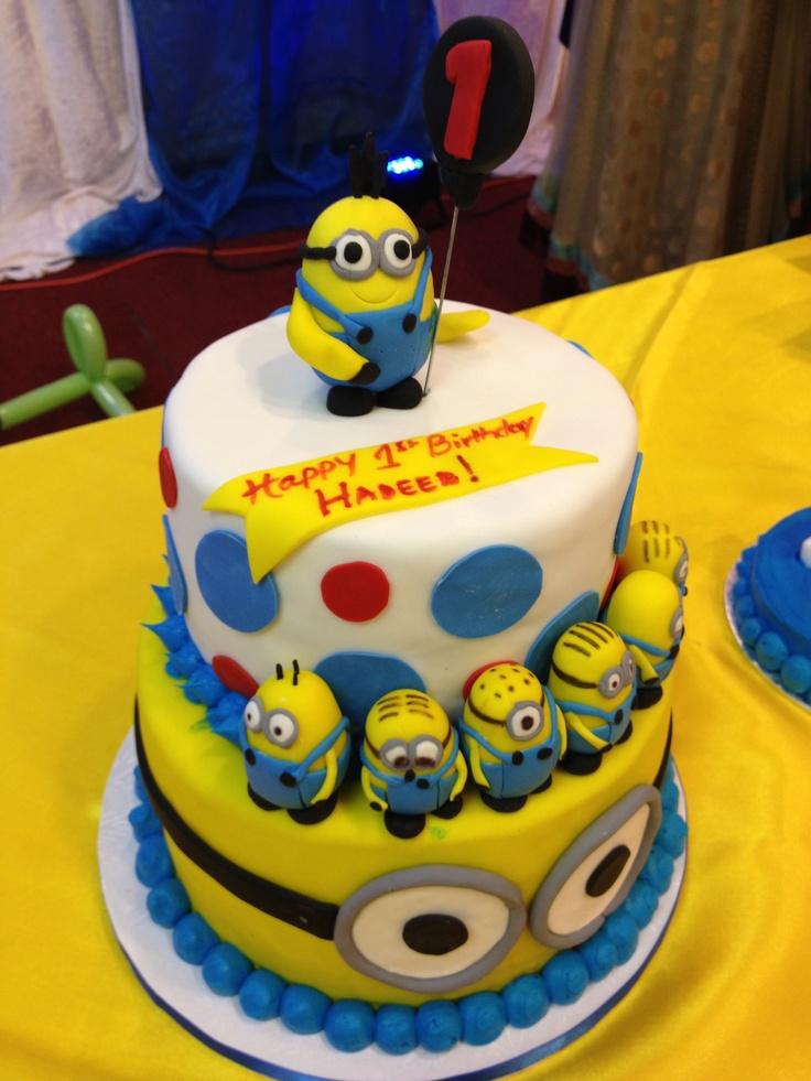 Surprising 13 Minion Birthday Party Cakes Photo Minion Birthday Cake Funny Birthday Cards Online Unhofree Goldxyz