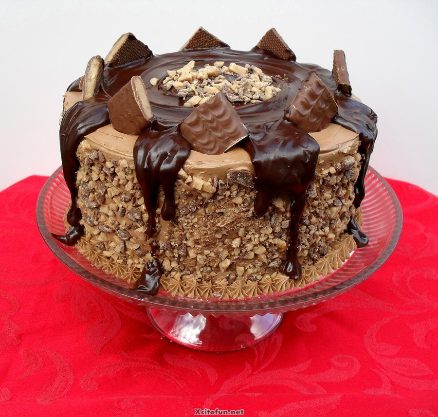 Marvelous 11 Delicious Chocolate Birthday Cakes Photo Chocolate Birthday Funny Birthday Cards Online Necthendildamsfinfo