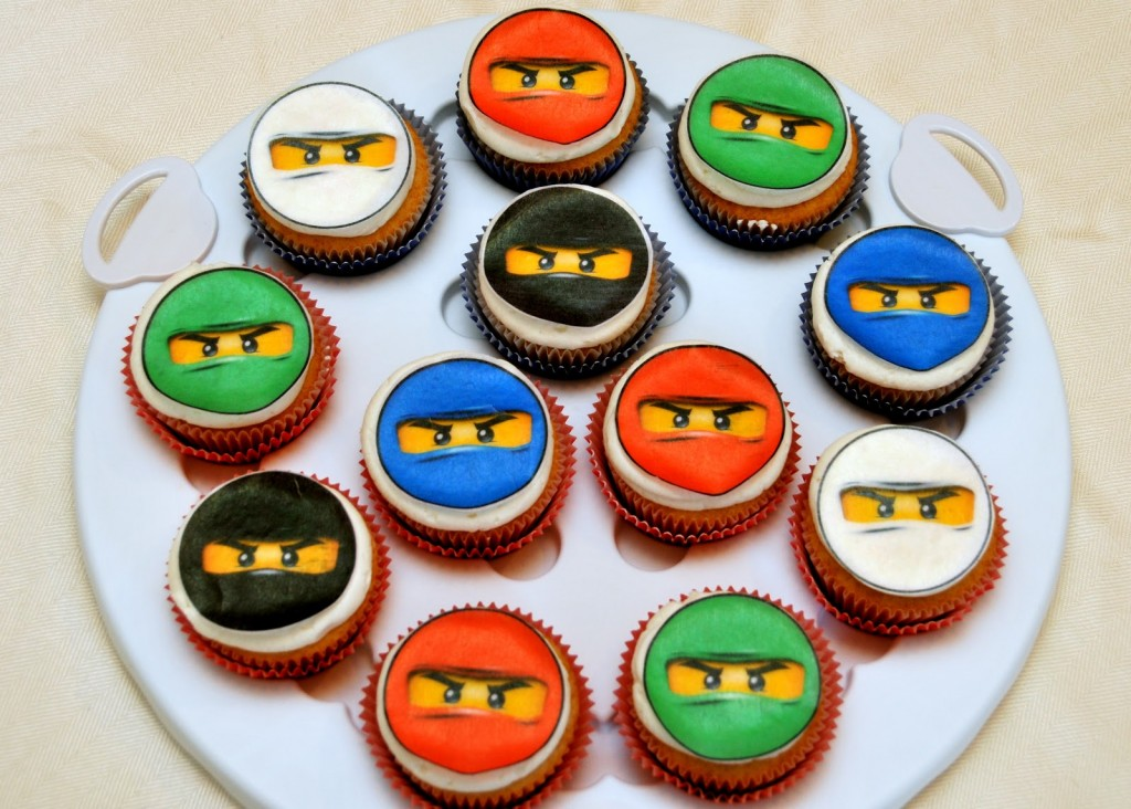 Pleasing 9 Lego Ninjago Birthday Cupcakes Photo Ninjago Birthday Cupcakes Funny Birthday Cards Online Inifofree Goldxyz