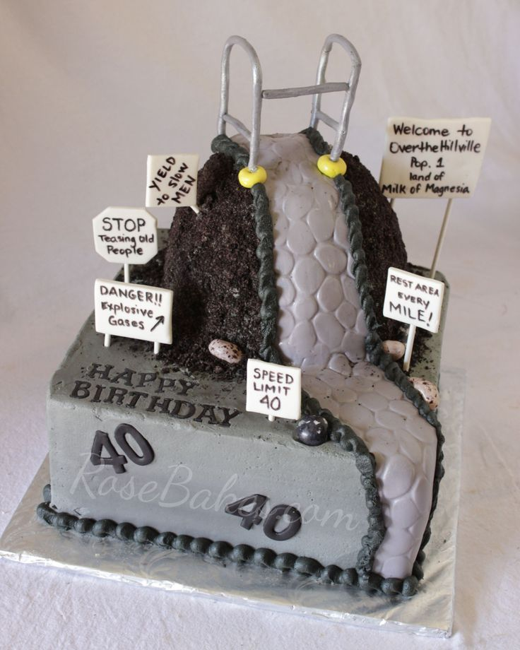 11 40 Birthday Cakes Special Made Photo Turning 40 Birthday Cake