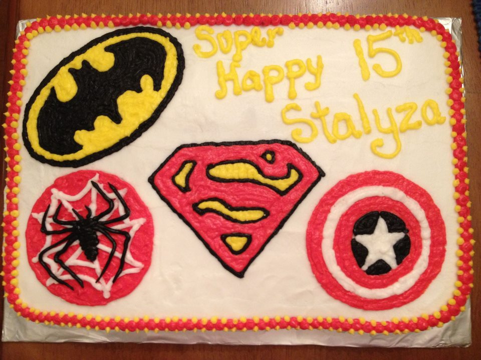 10 Superhero Cakes At Target Photo Superhero Birthday Cake