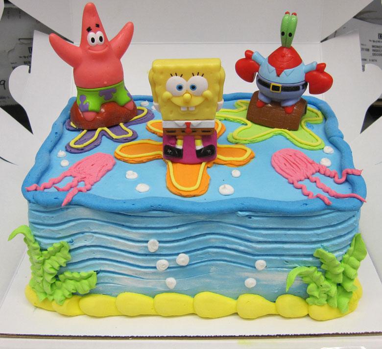 Magnificent 11 Big Spongebob Bday Cakes Photo Spongebob Birthday Cake Funny Birthday Cards Online Fluifree Goldxyz