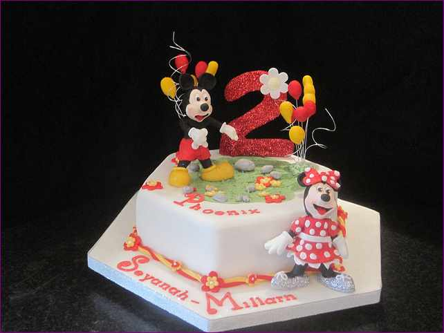 Enjoyable 11 Crazy For 2 Year Olds Homemade Birthday Cakes Photo 2 Year Personalised Birthday Cards Veneteletsinfo