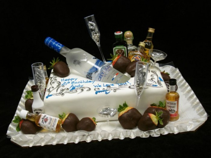 21st Birthday Cake Idea
