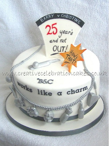 6 Funny 25th Anniversary Cakes Photo Happy Wedding Anniversary
