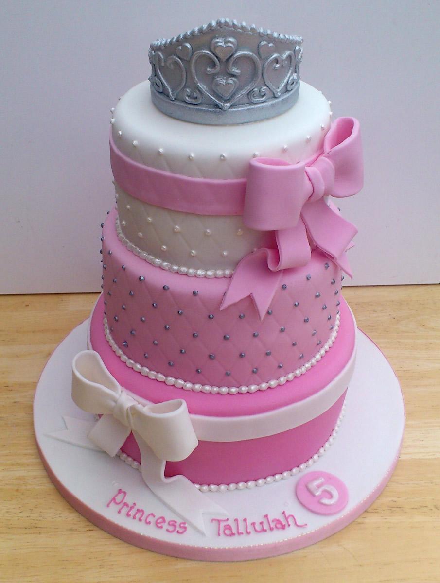 13 Three Tier Princess Birthday Cakes Photo 3 Tier Birthday Cake