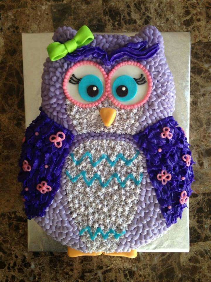 Brilliant 10 Owl Second Birthday Cakes Photo Buttercream Owl Birthday Cake Funny Birthday Cards Online Elaedamsfinfo