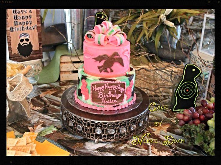Terrific 10 Duck Dynasty Cakes For Girls Photo Duck Dynasty Birthday Cake Personalised Birthday Cards Veneteletsinfo
