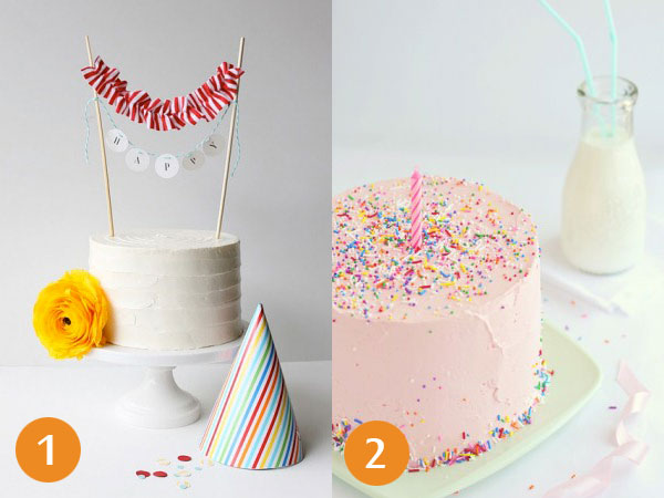 7 Homemade Round Cakes Pretty Photo