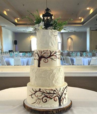 8 enchanted forest theme wedding cakes photo enchanted forest