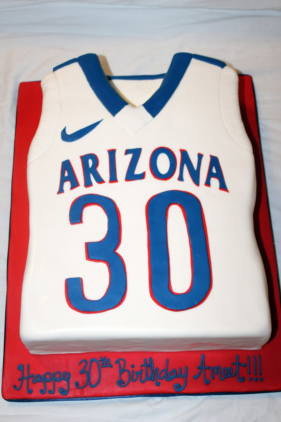 Girls Basketball Jersey Cake Ideas
