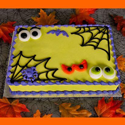 12 Halloween Sheet Cakes Photo Halloween Birthday Sheet Cake