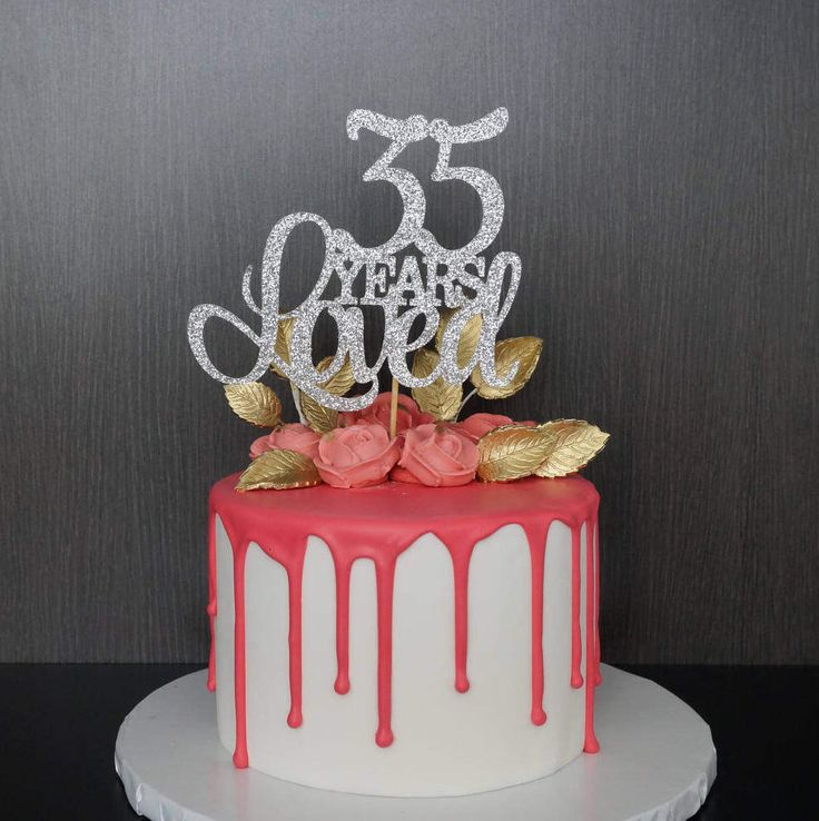 Terrific 6 35 Years Old Birthday Cakes For Man Photo 35Th Birthday Cake Funny Birthday Cards Online Hetedamsfinfo