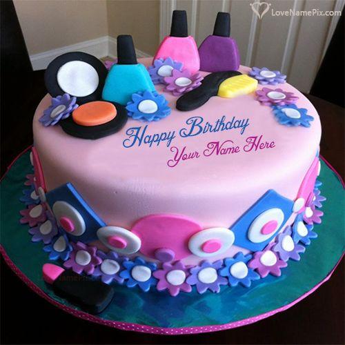 12 Beautiful Birthday Cakes With Name Hannah Photo Happy Birthday