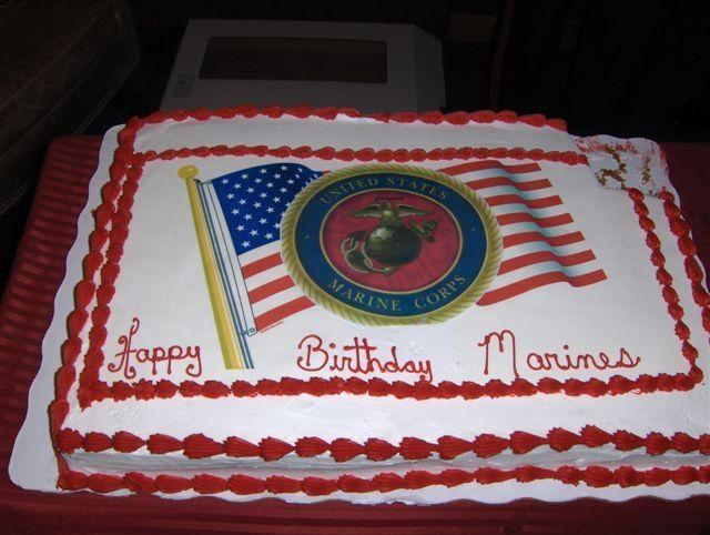 Sensational 13 Layered Marine Corps Birthday Cakes Photo Marine Corps Cake Personalised Birthday Cards Akebfashionlily Jamesorg