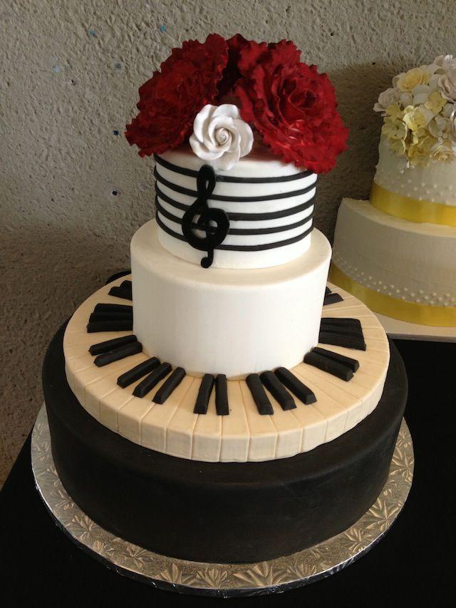 12 Music Themed Wedding Cakes Photo Music Wedding Cake Music